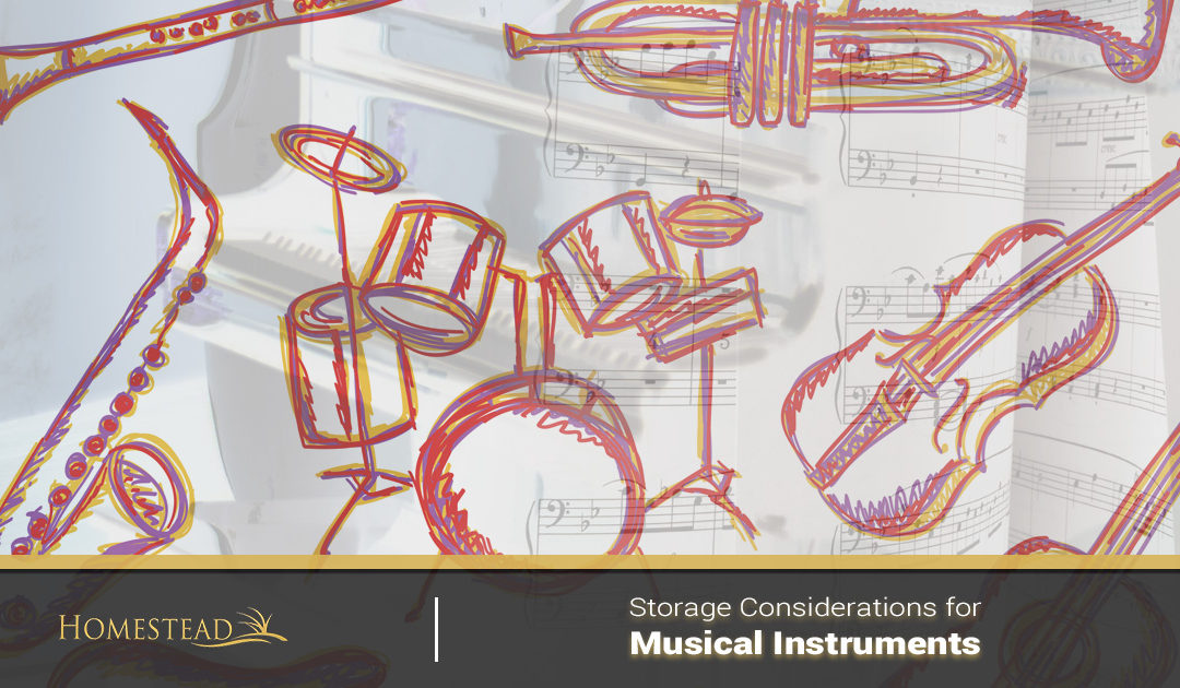 Storage Considerations for Musical Instruments