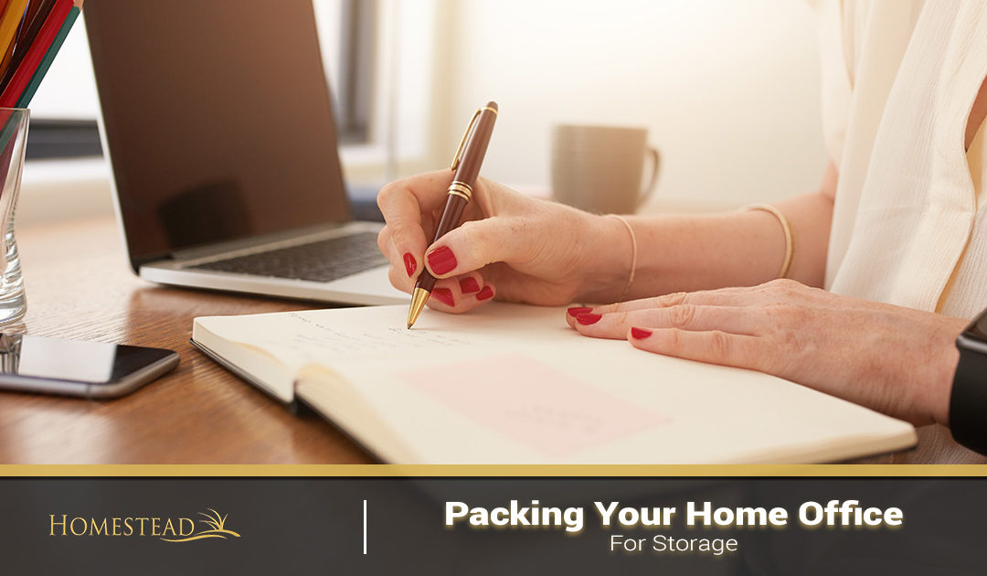 Packing Your Home Office for Storage