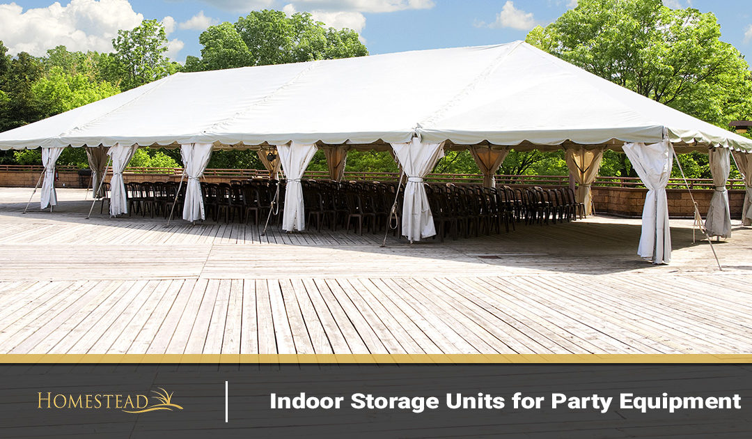 Indoor Storage Units for Party Equipment