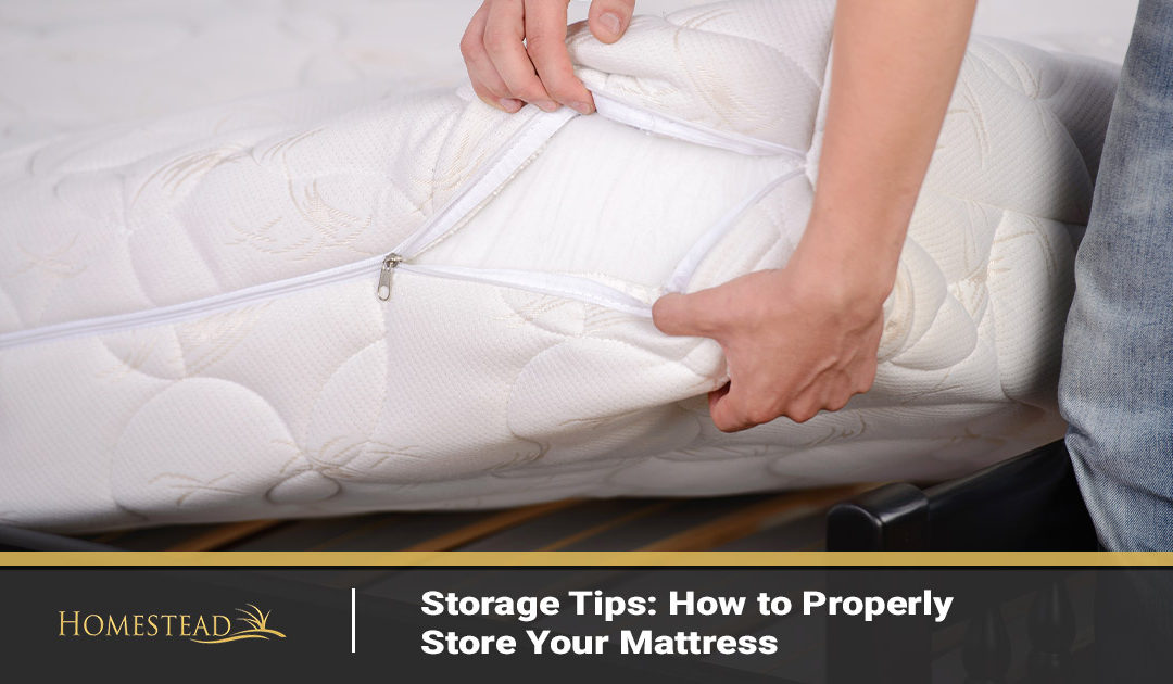 Storage Tips: How to Properly Store Your Mattress