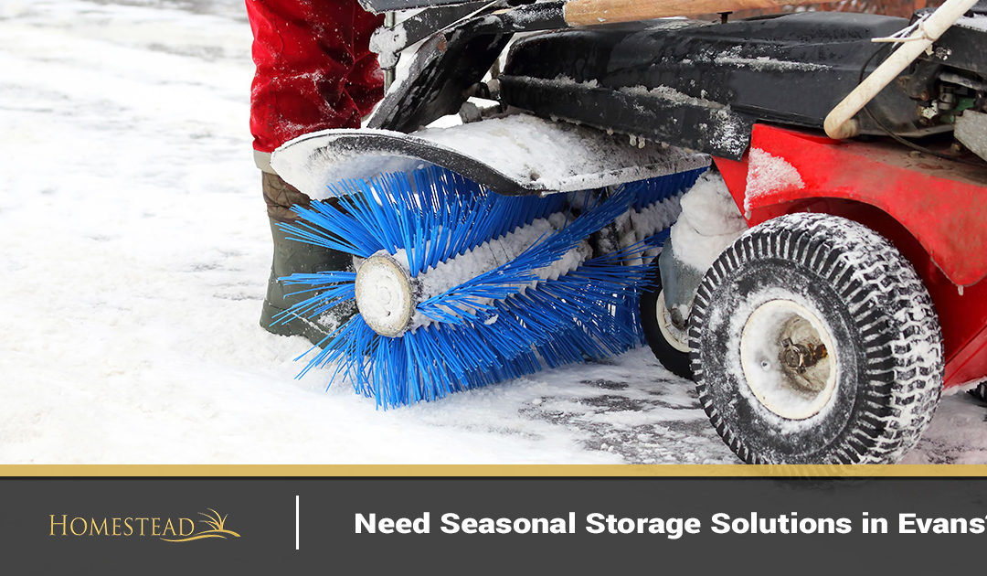 Need Seasonal Storage Solutions in Evans?