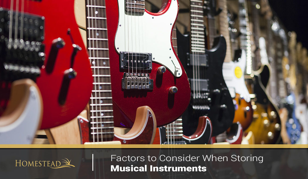 Factors to Consider When Storing Musical Instruments