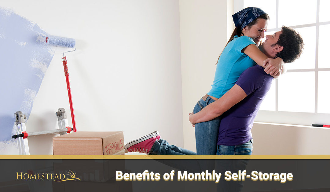 Benefits of Monthly Self-Storage