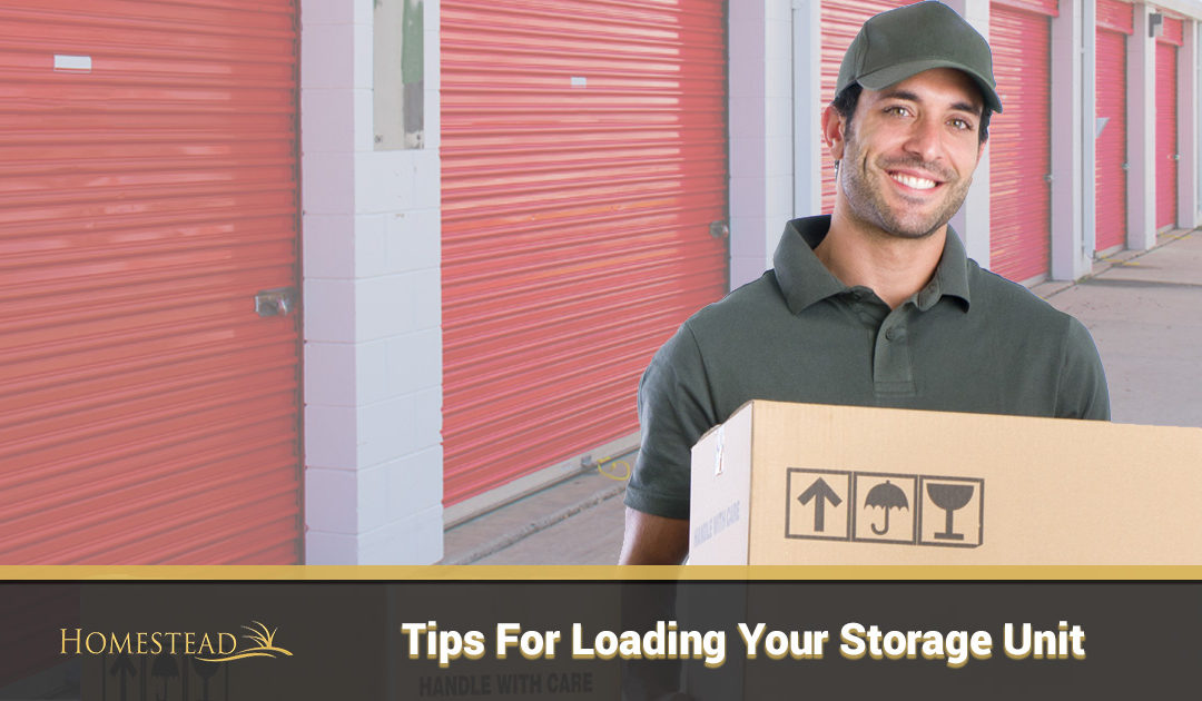 Tips for Loading Your Storage Unit