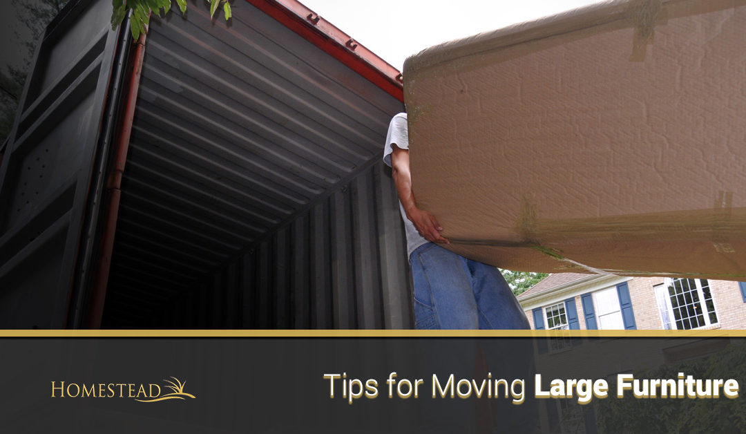 Tips for Moving Large Furniture
