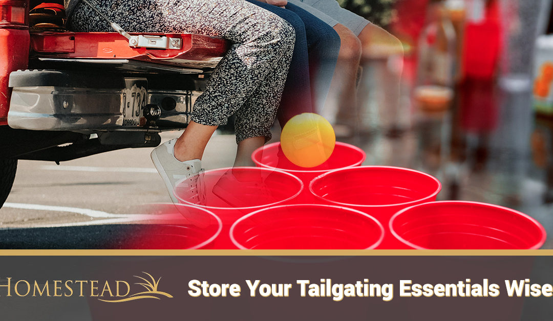 Store Your Tailgating Essentials Wisely