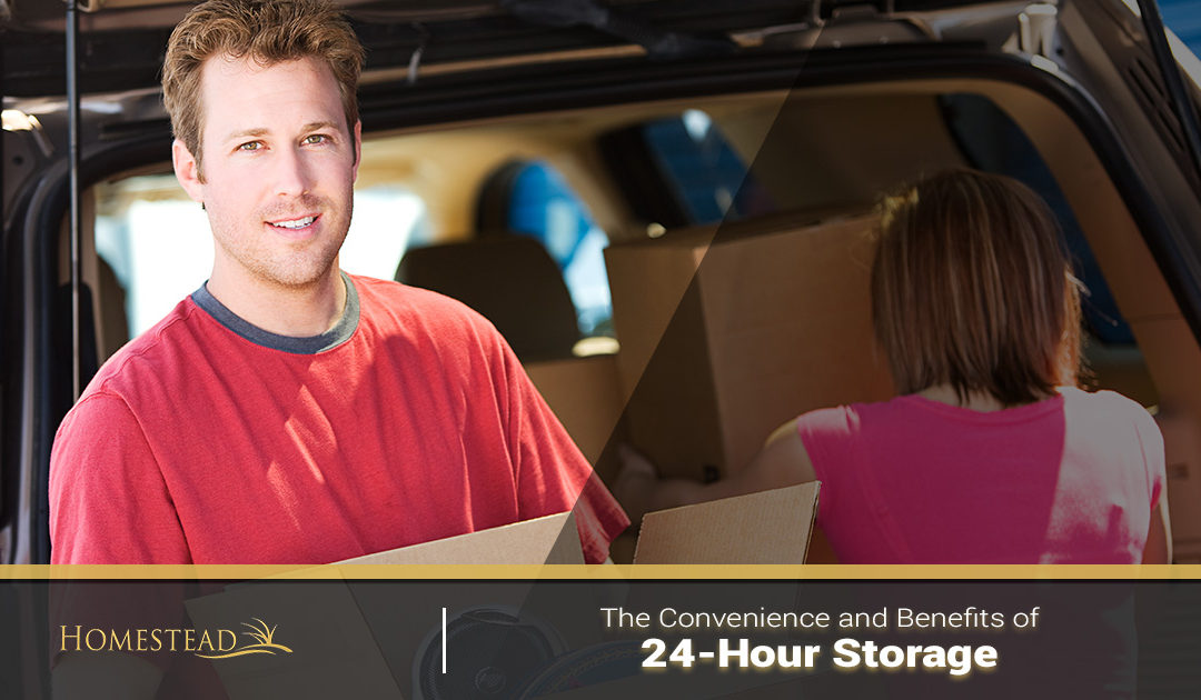 The Convenience and Benefits of 24-Hour Storage