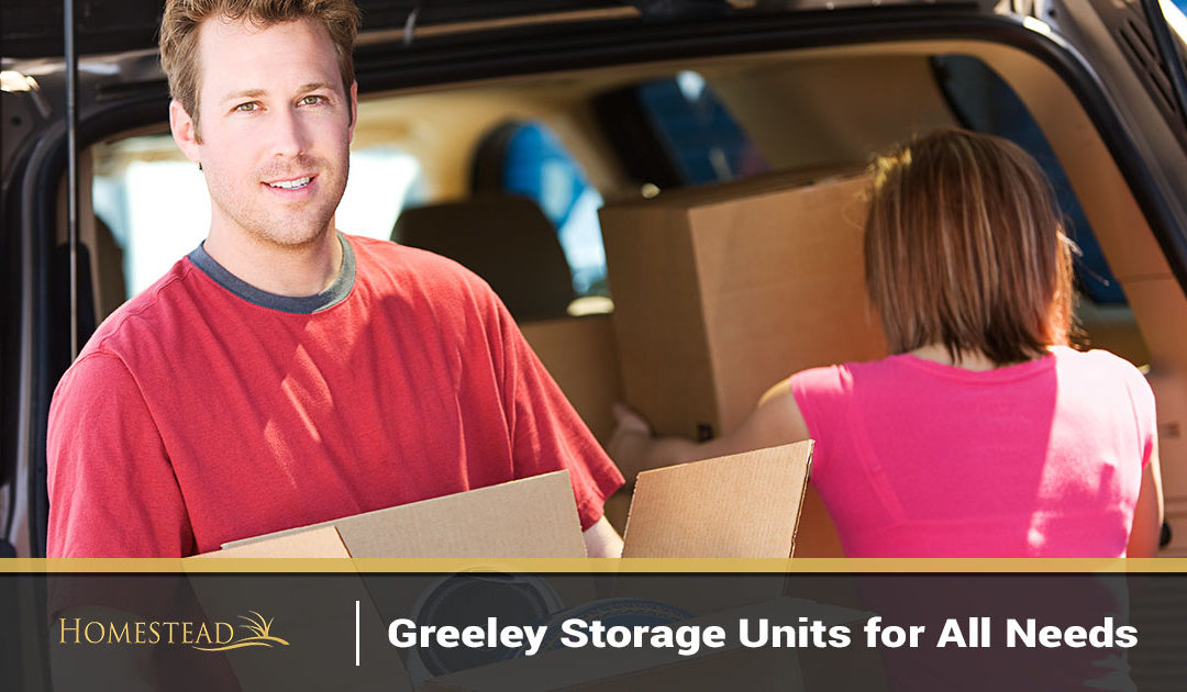 Greeley Storage Units for All Needs