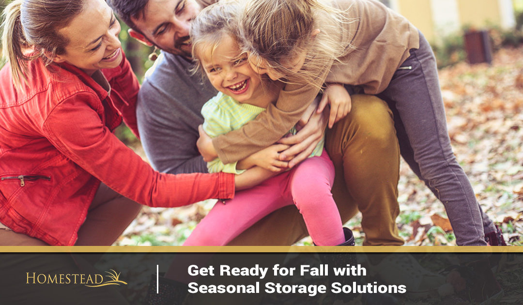 Get Ready for Fall with Seasonal Storage Solutions